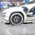Tamo Racemo± EV front wheel at Auto Expo 2018