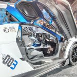 Tamo Racemo± EV interior at Auto Expo 2018
