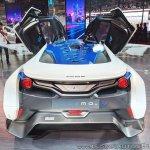 Tamo Racemo± EV rear at Auto Expo 2018