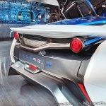 Tamo Racemo± EV rear fascia at Auto Expo 2018