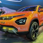 Tata H5X concept front three quarters at Auto Expo 2018