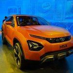 Tata H5X concept front three quarters right side at Auto Expo 2018