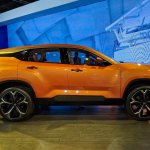 Tata H5X concept profile at Auto Expo 2018