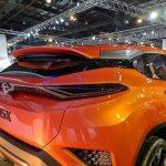 Tata H5X concept rear fascia at Auto Expo 2018