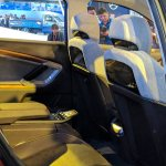 Tata H5X concept rear seats at Auto Expo 2018
