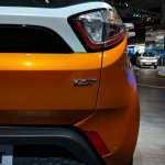 Tata Nexon AMT XZA+ badge at Auto Expo 2018