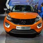 Tata Nexon AMT front at Auto Expo 2018