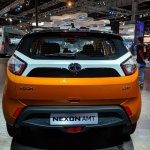 Tata Nexon AMT rear at Auto Expo 2018
