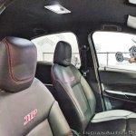 Tata Tigor JTP front seats at Auto Expo 2018