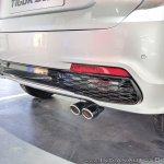 Tata Tigor JTP rear bumper at Auto Expo 2018