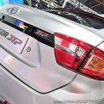 Tata Tigor JTP rear fascia at Auto Expo 2018