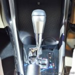 Toyota Yaris CVT shifter at Auto Expo 2018