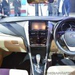 Toyota Yaris dashboard at Auto Expo 2018