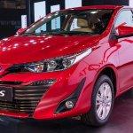 Toyota Yaris front three quarters