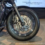 Triumph Bonneville Speedmaster Highway Kit India launch front wheel