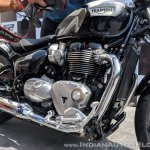 Triumph Bonneville Speedmaster India launch engine