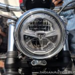 Triumph Bonneville Speedmaster India launch headlight