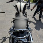 Triumph Bonneville Speedmaster India launch seat profile
