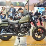 UM Renegade Duty S right side at 2018 Auto Expo