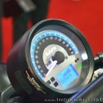 UM Renegade Sports S Vegas Edition instrument cluster at 2018 Auto Expo