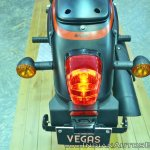 UM Renegade Sports S Vegas Edition tail light at 2018 Auto Expo