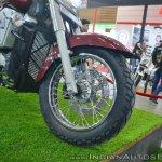 UM Renegade Thor front wheel at 2018 Auto Expo