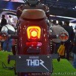 UM Renegade Thor tail light at 2018 Auto Expo
