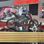 Yamaha Hyper Slaz Concept right side at 2018 Auto Expo
