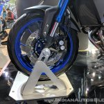 Yamaha MT-09 Tracer front wheel at 2018 Auto Expo