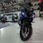 Yamaha YZF-R15 V 3.0 front at 2018 Auto Expo