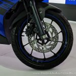Yamaha YZF-R15 V 3.0 front wheel at 2018 Auto Expo