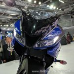 Yamaha YZF-R15 V 3.0 headlights at 2018 Auto Expo