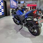 Yamaha YZF-R15 V 3.0 rear left quarter at 2018 Auto Expo