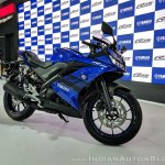 Yamaha YZF-R15 V 3.0 right side at 2018 Auto Expo