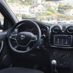 2017 Renault Logan dashboard driver-side