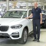 2018 BMW X3 assembly at BMW Group Chennai Plant
