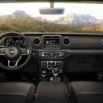 2018 Jeep Wrangler Unlimited Sahara interior dashboard