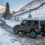 2018 Jeep Wrangler Unlimited Sahara rear three quarters