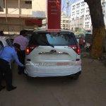 2018 Mahindra XUV500 (facelift) rear unofficial image