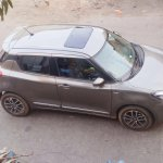 2018 Maruti Swift with sunroof closed