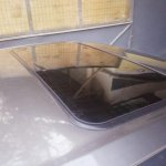 2018 Maruti Swift with sunroof installation