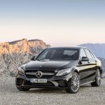 2018 Mercedes-AMG C 43 AMG 4MATIC (facelift) front three quarters left side