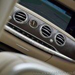 2018 Mercedes-Benz S-Class review test drive AC vents