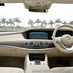 2018 Mercedes-Benz S-Class review test drive dashboard view