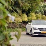 2018 Mercedes-Benz S-Class review test drive front angle far
