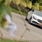 2018 Mercedes-Benz S-Class review test drive front angle tilt