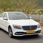 2018 Mercedes-Benz S-Class review test drive front angle