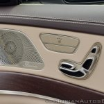2018 Mercedes-Benz S-Class review test drive front seat control buttons