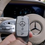 2018 Mercedes-Benz S-Class review test drive key fob