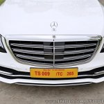 2018 Mercedes-Benz S-Class review test drive nose front